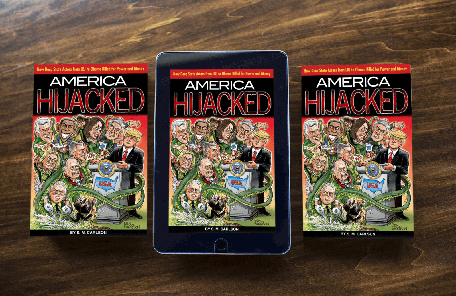 America Hijacked Book - Hardcover, Paperback, and Amazon Kindle Edition